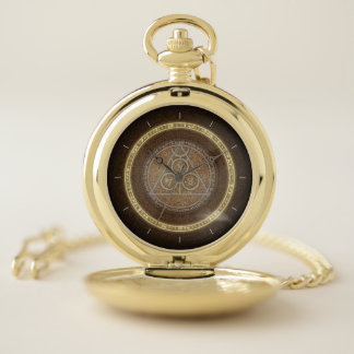 Último reloj de bolsillo del diseño de las épocas