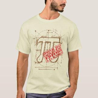 Últimos edición especial del día 2015 del pi camiseta