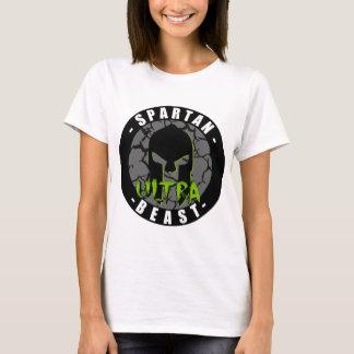 Ultra bestia espartano camiseta