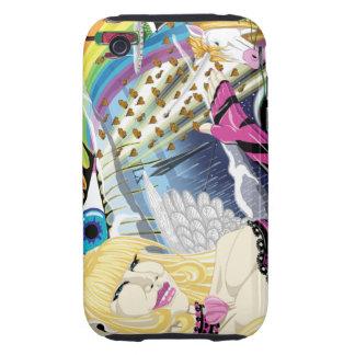 Ultra caso duro de la fantasía iPhone3G iPhone 3 Tough Protectores