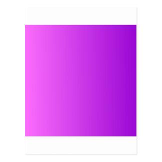 Ultra rosa a la pendiente vertical violeta oscura postal