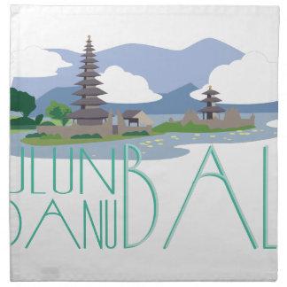 Ulun Danu Bali Servilleta De Tela