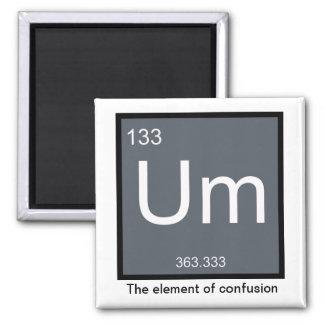 Um, el elemento de la confusión - imán