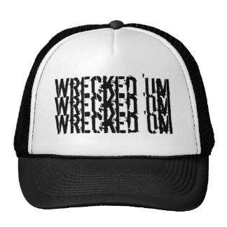 'Um gorra de béisbol arruinada del Tri Logotipo