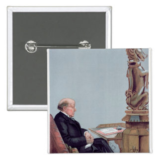 Un abogado escocés chapa cuadrada 5 cm