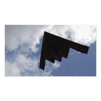 Un alcohol B-2 en vuelo Fotografias