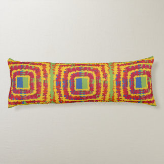Un algodón hermoso de la almohada del cuerpo del