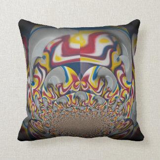 Un amor Rasta colorea la almohada del vintage