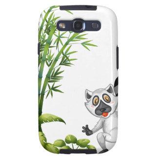 Un animal salvaje cerca de la planta de bambú galaxy s3 protectores