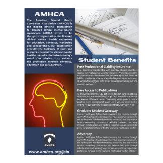 Un aviador de la calidad de miembro del estudiante folleto 21,6 x 28 cm