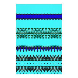 Un azul del modo del la  papeleria de diseño