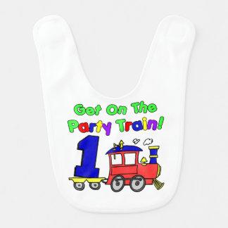 Un babero del tren del fiesta de los años