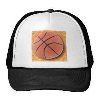 Un baloncesto gorros