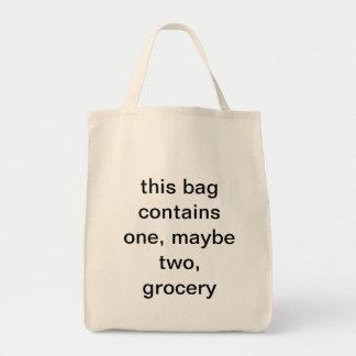 un bolso de ultramarinos bolsa tela para la compra