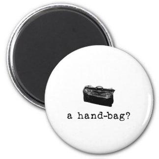 ¿Un bolso? Imanes