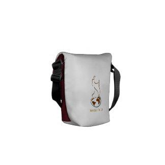Un bolso para el vagabundo, viajero, nómada bolsas messenger