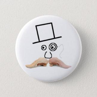 Un botón del bigote de la carne