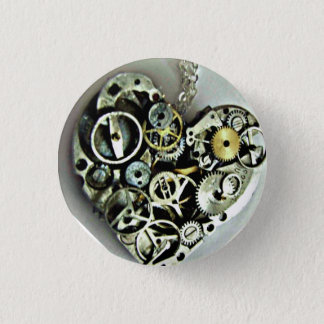 Un botón del corazón del mecanismo
