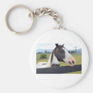 Un caballo hermoso llavero