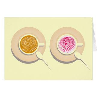 Un caf� en enamorado - felicitaciones