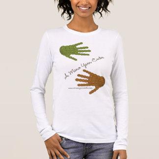 Un centro del hilado de Mano: Camiseta cabida