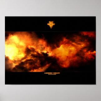 Un concepto demoníaco posters