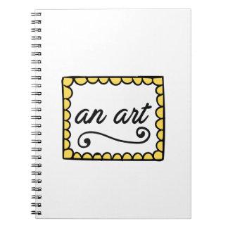 Un cuaderno del arte