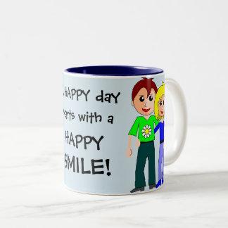 Un día FELIZ comienza con una taza linda de la