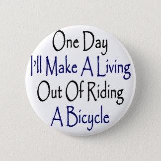 Un día haré A que vive fuera de montar una Chapa Redonda De 5 Cm