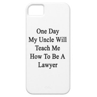 Un día mi tío Will Teach Me How de ser un abogado iPhone 5 Cárcasas