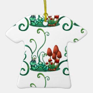 Un diseño inconsútil con los gusanos en un jardín ornamentos de reyes