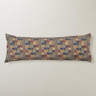 Un diseño punteado almohada hermosa del cuerpo