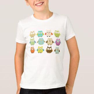Un docena camisetas del búho