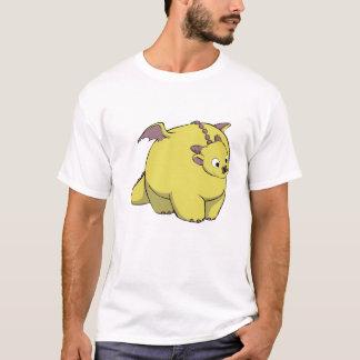 Un dragón gordo camiseta