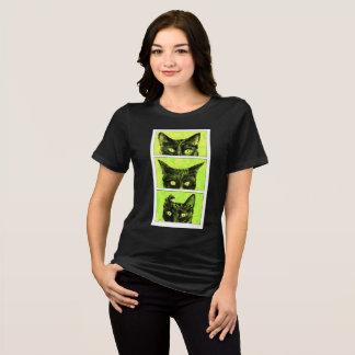 Un estudio de los oídos de gato camiseta