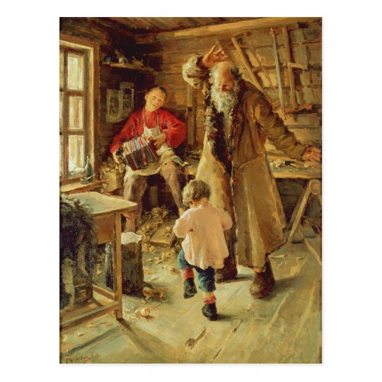 Un feliz momento, 1897 postal