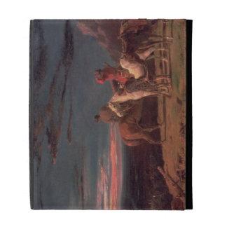 Un fiesta de exploradores, 1851 (aceite en lona)