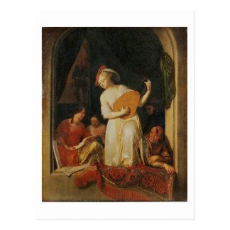 Un fiesta musical, 1681 tarjetas postales