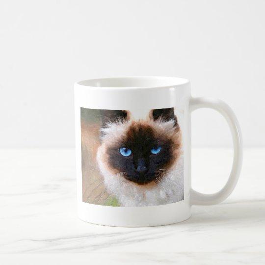 Un gato de Birman Taza De Café