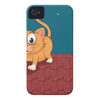 Un gato y una rata en el tejado iPhone 4 coberturas