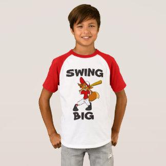 Un golpe para usted camiseta del béisbol