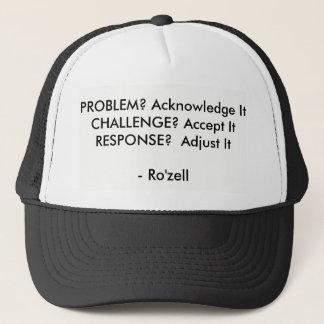 Un gorra que mantiene su cordura tacto