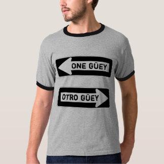 Un Güey.  Otro Güey. Camisetas