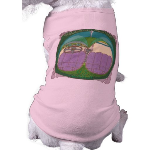 Un hámster SURAMERICANO Speedster de U. Camiseta De Perro