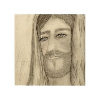 Un Jesús Impresión En Madera