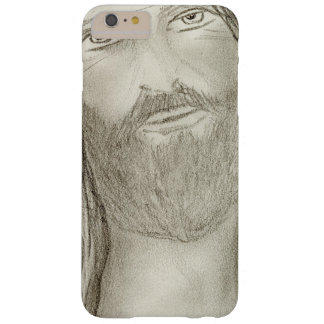 Un Jesús solemne Funda Barely There iPhone 6 Plus