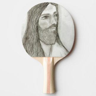 Un Jesús solemne Pala De Ping Pong