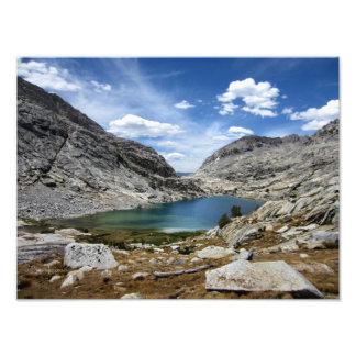 Un lago más bajo 2 palisade - rastro de John Muir Fotos