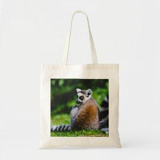Un Lemur joven, fotografía animal Bolsa De Mano