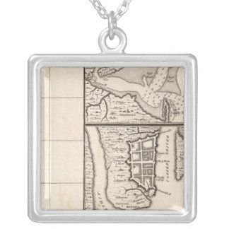 Un mapa del Imperio británico en la hoja 12 de Amé Collar Plateado
